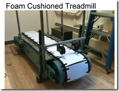foam cushioned treadmill