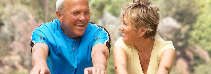 Chiropractic Gainesville VA Aging Active Couple